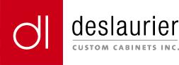 deslaurier custom cabinets logo